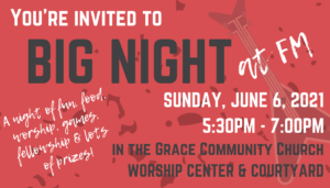 All Youth are invited (upcoming 7th grade through graduating Seniors!